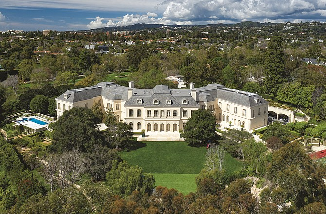 Jade Mills was a listing agent for the $120 million sale of The Manor in Beverly Hills.