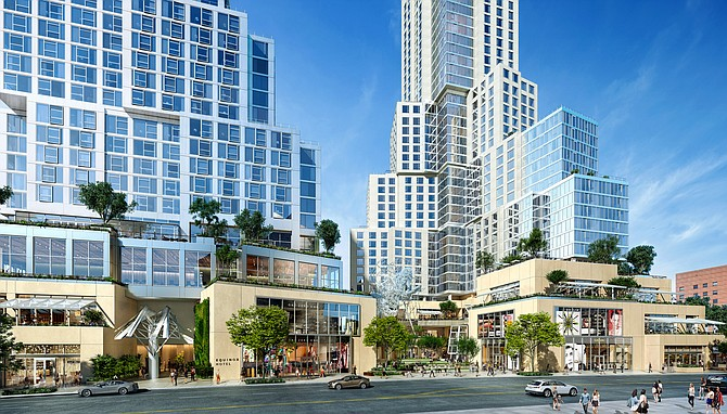 The Grand will have more than 400 residential units.