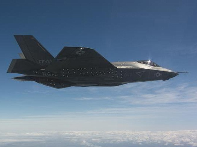 Photo courtesy of Lockheed Martin Corp. Lockheed Martin received a contract to set up repair facilities for a certain radio on its F-35 Lightning II fighter.