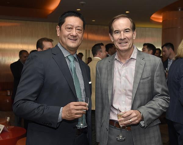 Michael Burdiek, on the right