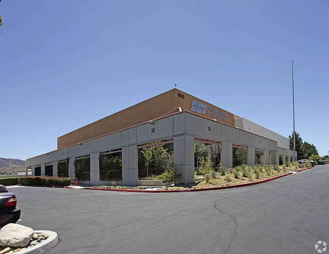 Warehouse at 600 W. Technology Drive in Palmdale.