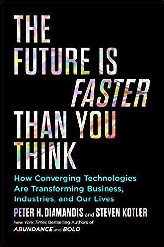 """The Future Is Faster Than You Think,"" by Peter Diamandis and Steven Kotler, is one of the books Stan Kroenke recommends."