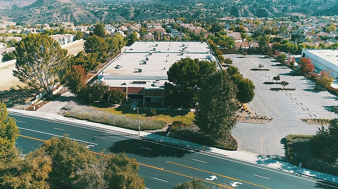 Industrial building at 1300 Rancho Conejo Blvd. in Thousand Oaks.