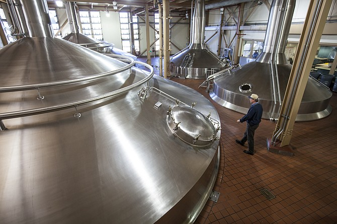 Anheuser-Busch Cos. brewery in Van Nuys.