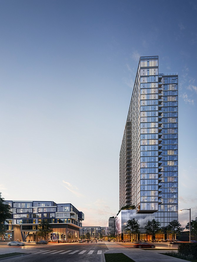The Cumulus will have a 31-story high-rise and a seven-story mid-rise building.