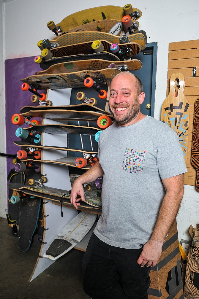 Don Tashman, founder and chief executive, Loaded Boards Inc.