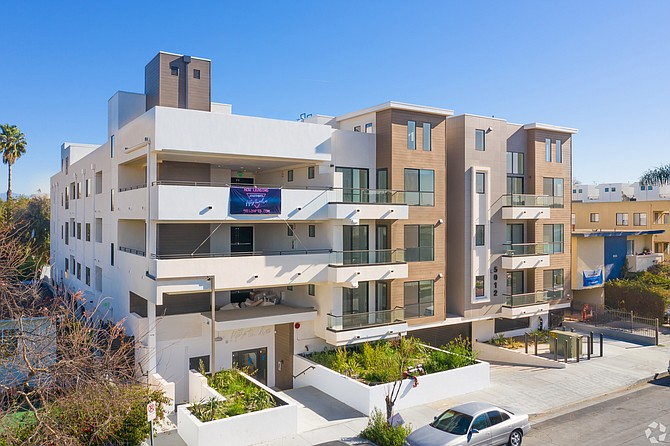 5012 Apartments in Culver City is Trion Properties' first ground-up development.