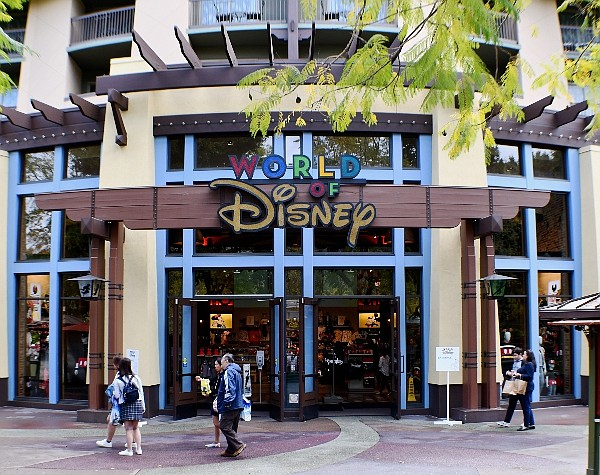 Downtown Disney, before closure