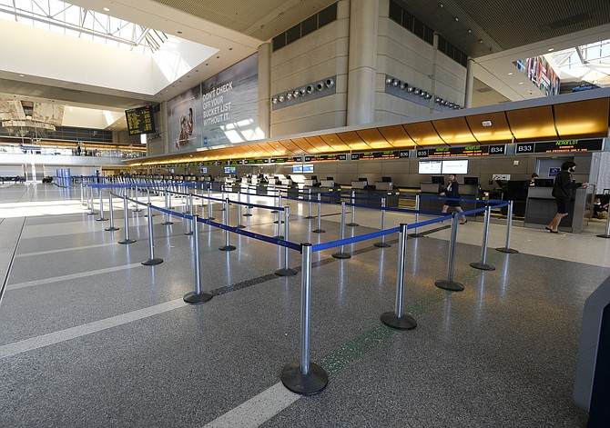 A ban on flights took a toll at LAX.