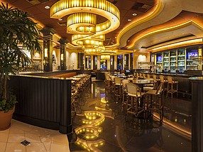 Interior of Cheesecake Factory in Woodland Hills.