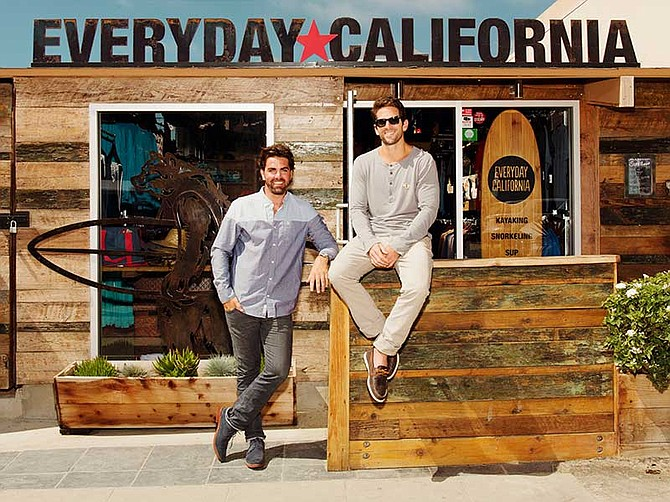 Photo courtesy of Everyday California. Everyday California, an ocean adventure and lifestyle brand headquartered in La Jolla, was founded in 2010 by Christopher Lynch and Michael Samer.