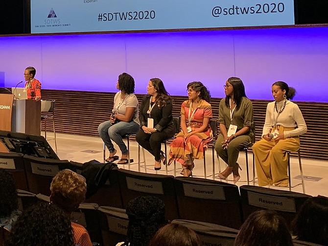 Photo courtesy of Athena. Blacks in Tech is dedicated to increasing the representation of female African Americans in STEM occupations.