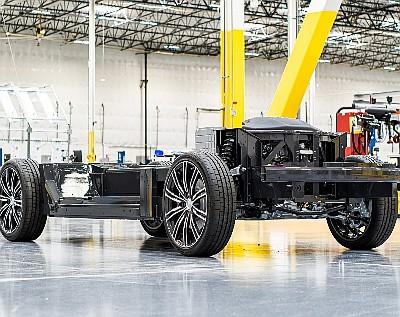 Karma Automotive's E-Flex Platform.