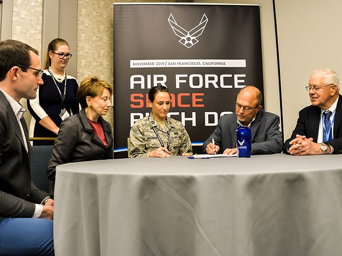 Photo courtesy of U.S. Air Force and Space Micro.  