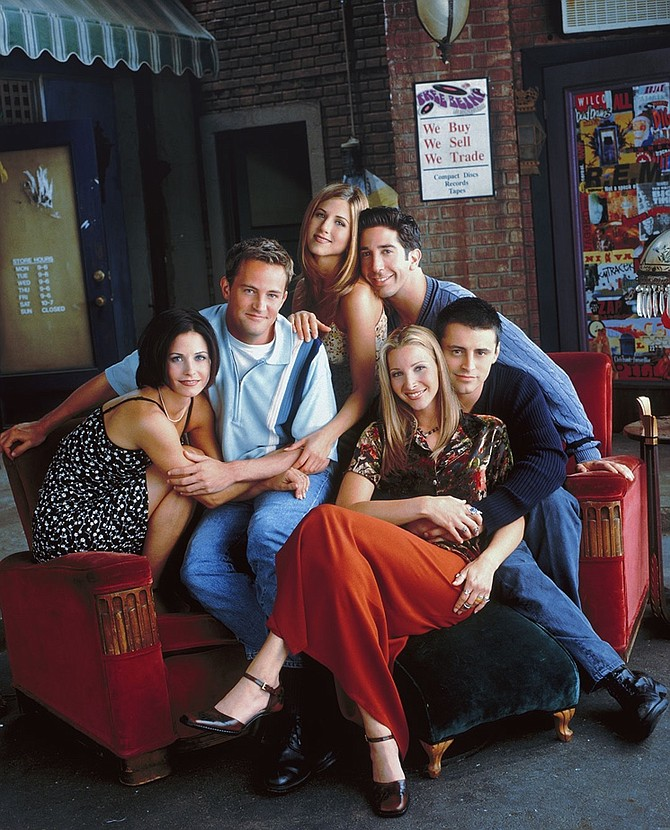 """""""Friends"""" on HBO Max."""