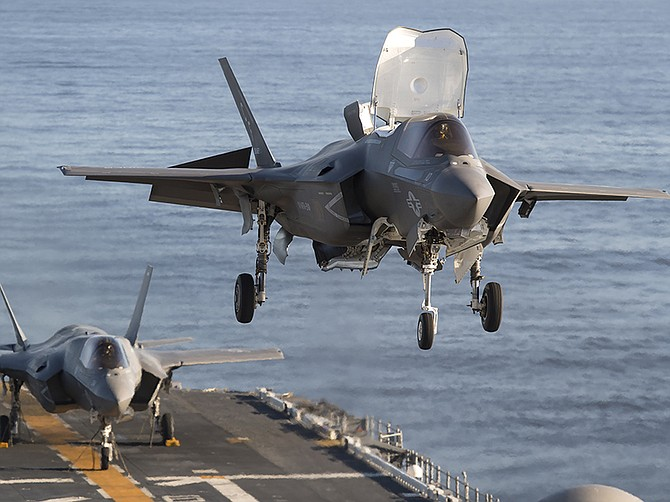 Photo courtesy of U.S. Navy and Lockheed Martin Corp.