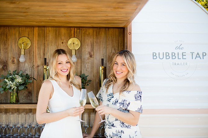Jennifer and Nicole Disotell launched Tap Trailer in 2018 and plan to move to a franchise model.