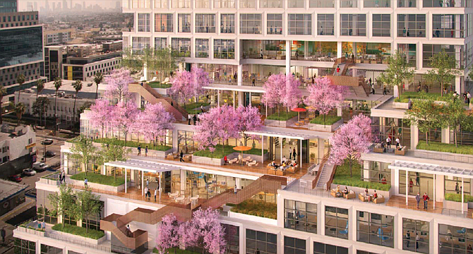 Netflix preleased the 328,000-square-foot Epic building in Hollywood.