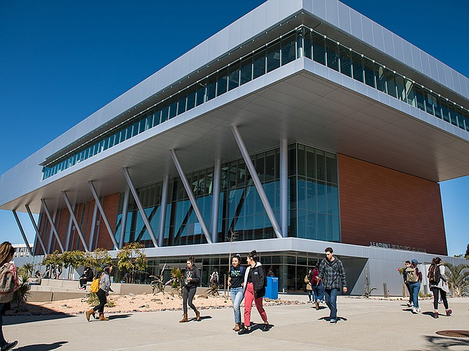 Photo courtesy of Palomar College. Palomar College in San Marcos has announced extended distance learning efforts through the summer semester.