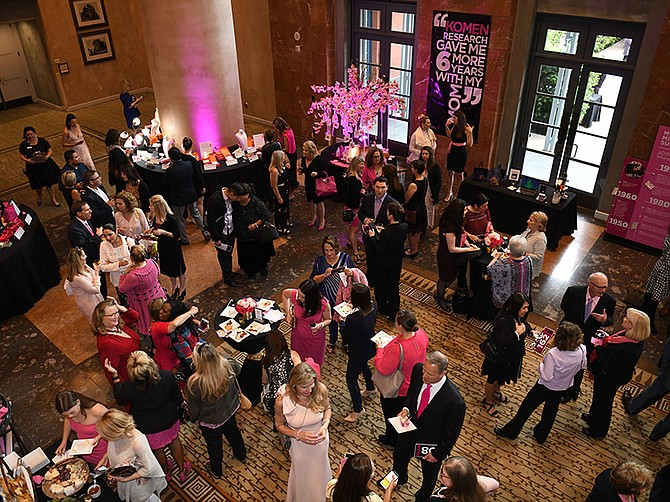 """Photo courtesy of Susan G. Komen San Diego. The annual """"More Than Pink"""" fundraiser raises about $200,000 a year to financially aid those going through breast cancer treatment."""