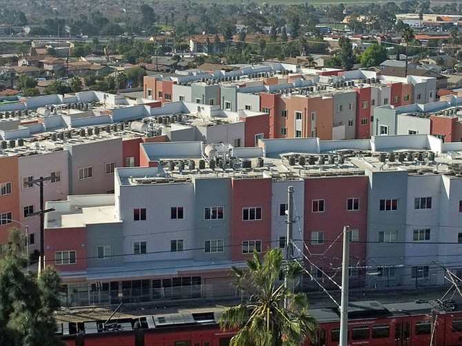 Photo courtesy of Chelsea Investment Corp. Paseo La Paz provides 137 affordable apartments.