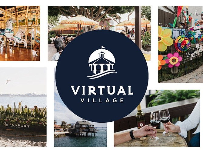 """Photo courtesy of Seaport Village. Seaport Village has pivoted all of its efforts to remote offerings, collectively known as """"Virtual Village"""" and accessible through the Seaport Village site."""