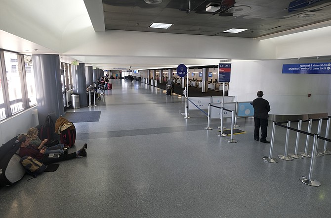 LAX saw a 95% drop in air passenger traffic in early April due to the coronavirus pandemic.