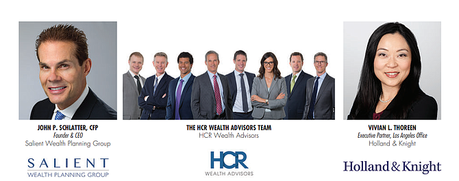 JOHN P. SCHLATTER, CFP - Founder & CEO Salient Wealth Planning Group | THE HCR WEALTH ADVISORS TEAM