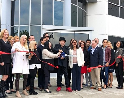 Tilly's Life Center 2019 ribbon cutting in Irvine