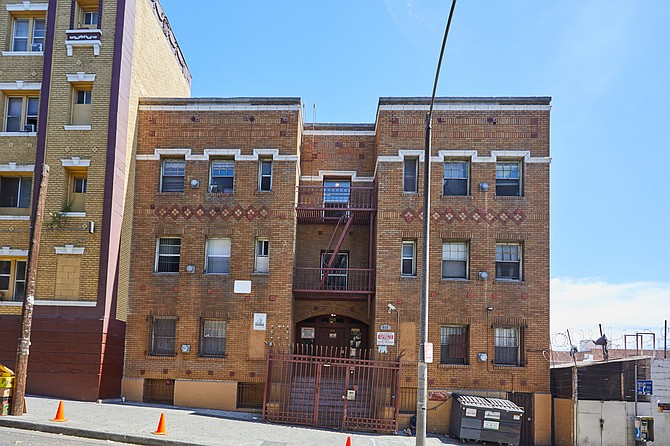 A 26-property multifamily portfolio, including 512 S. Bonnie Brae St., sold for $102 million.