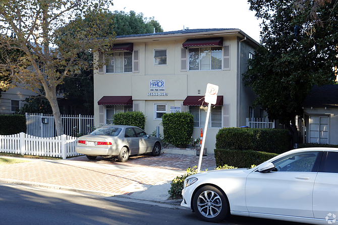 Apartment complex at 14533 Dickens St. in Van Nuys.