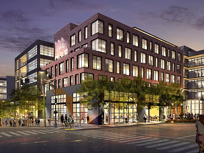 Rendering courtesy of Kilroy Realty. Kilroy's 2100 Kettner office project in Little Italy.