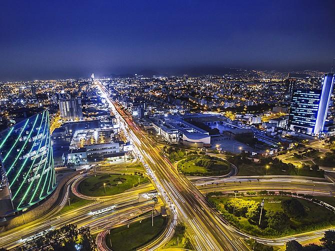 Photo courtesy of Luz del Sur. Sempra Energy's Luz del Sur utility lights the night skies.