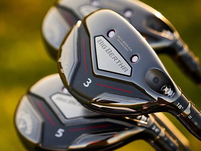 Photo courtesy of Callaway Golf Co. Big Bertha clubs retain a spot in Callaway Golf's catalog.