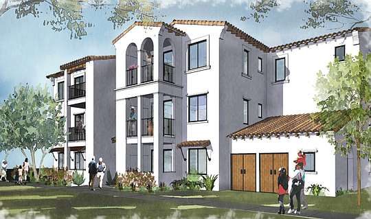 Rendering of Somis Ranch housing project.