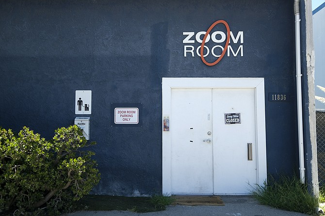 Zoom Room's Culver City location awaits the all-clear.