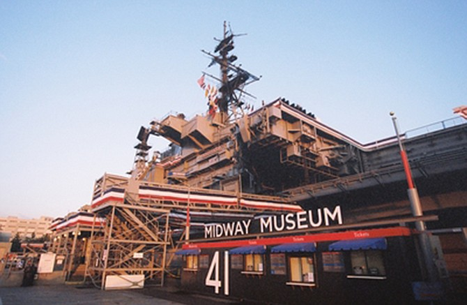 Photo courtesy of USS Midway Museum.