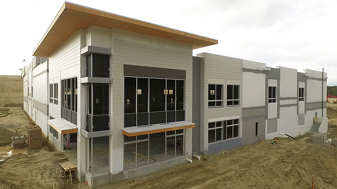 Construction of Center at Needham Ranch's Phase I in Santa Clarita.
