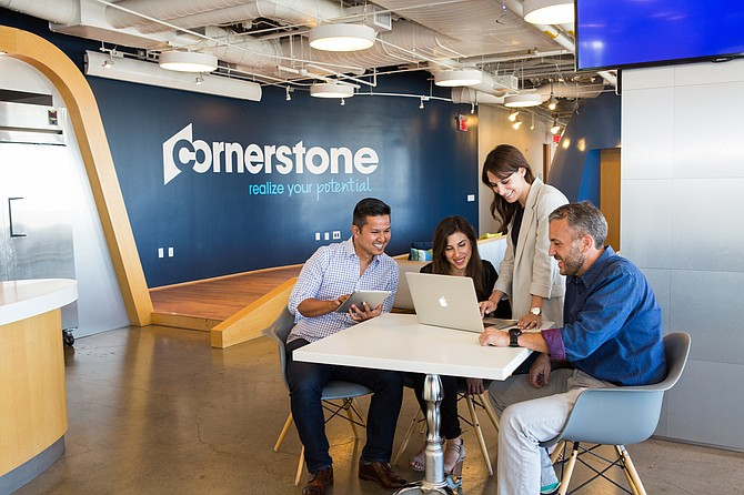 Cornerstone posted a 7% gain in first-quarter earnings.