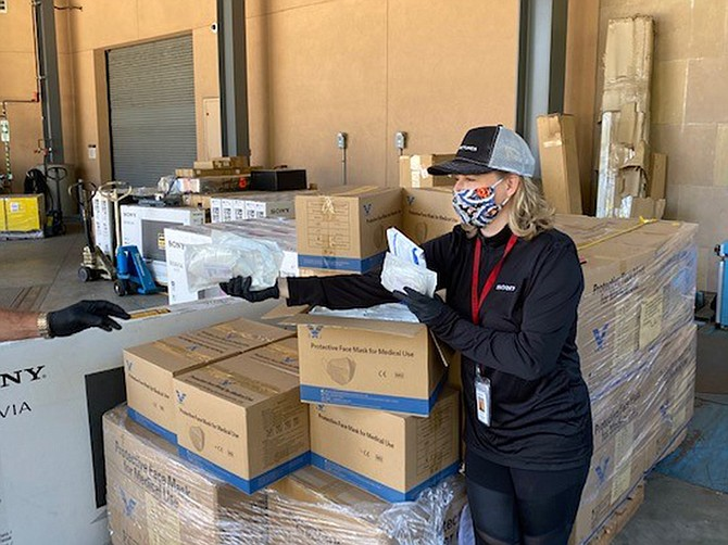 Photo courtesy of Sony Electronics.