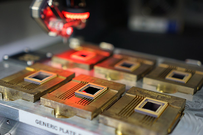 Teledyne CCD sensors.