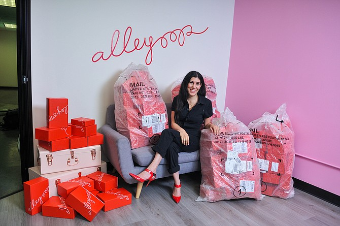Leila Kashani's Alleyoop has seen 400% growth in its ecommerce business.