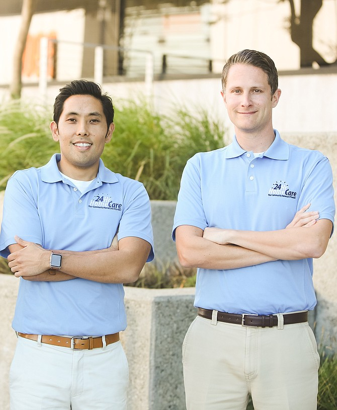 24 Hour Home Care President Ryan Iwamoto and CEO David Allerby say business is stabilizing.