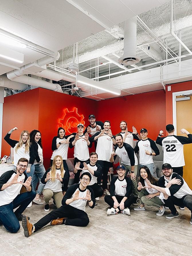UpKeep and Ryan Chan (front) raised a $36 million Series B.