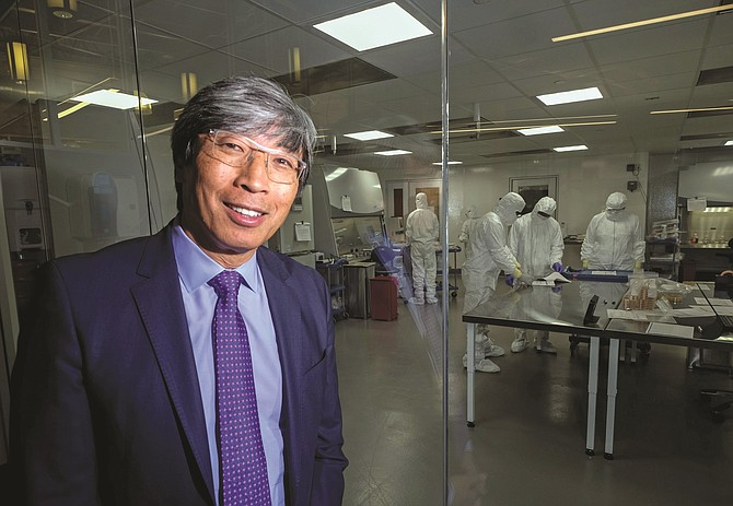 Patrick Soon-Shiong has focused his companies on Covid-19.