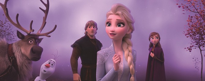 'Frozen II' gave an early boost to Disney Plus.