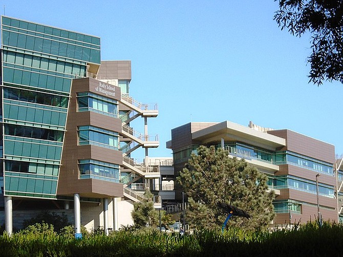 Photo courtesy of UC San Diego. Rady School of Management at UC San Diego will partner with local universities, organizations and faculty to offer expertise to the community.
