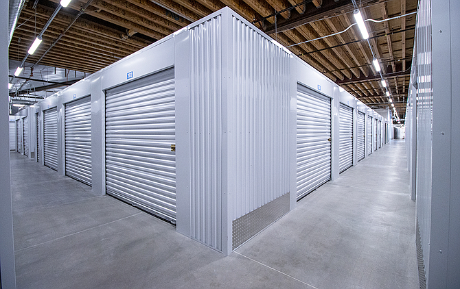 Climate-controlled units at Secure Space Self Storage in Camarillo.