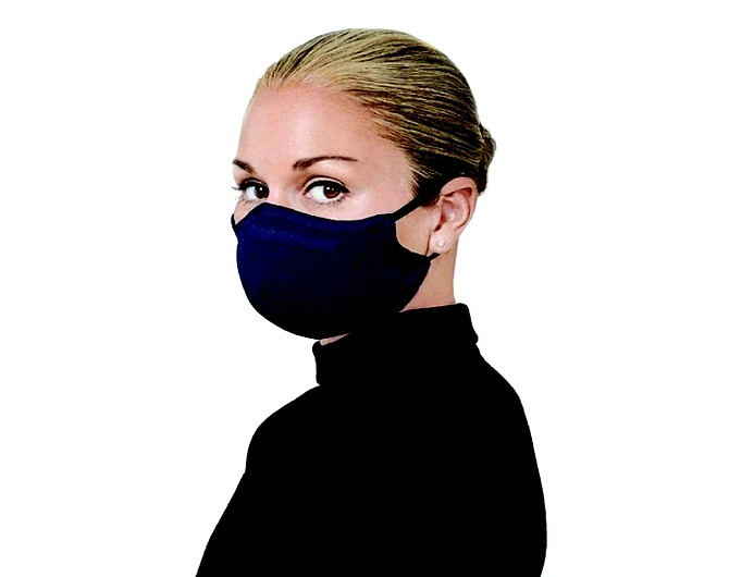 St. John Knit luxe face covering