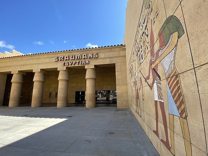 Historic Egyptian Theatre in Hollywood